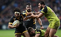 Kyle Eastmond (left) was dismissed for a high tackle
