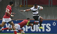 Taqele Naiyaravoro, seen here playing for Barbarians, has signed for Northampton