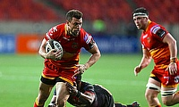 Zane Kirchner carrying for the Dragons in South Africa