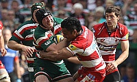 Ben Woods in action for Leicester Tigers