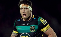 Teimana Harrison was red-carded during the Anglo-Welsh semi-final clash against Bath