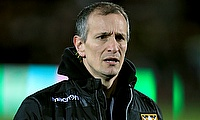 Northampton head coach Alan Dickens