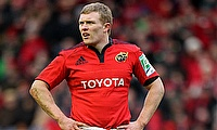 Munster suffer Keith Earls blow ahead of European Champions Cup quarter-final