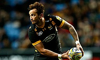 Danny Cipriani is doubtful for Wasps' weekend clash against Worcester