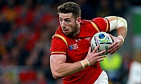 Alex Cuthbert scored a try for Cardiff Blues
