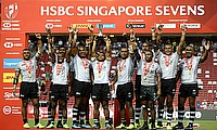 Fiji resist Australia to win Singapore 7s and move to top of World Rugby Sevens Series