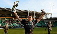Ben Spencer scored a double for Saracens