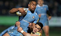 Joe Cokanasiga scored four tries fro London Irish this season