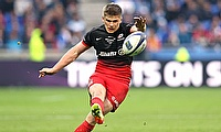 Owen Farrell kicked 27 points for Saracens