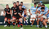 England U20 captain Ben Curry in action against Argentina