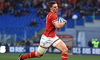 George North scored a try for Wales