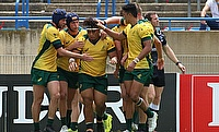 Australia U20 team in action against Argentina