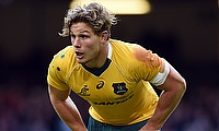Michael Hooper suffered an injury during the third Test against Ireland