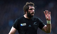 Sam Whitelock is named in the Team of the Week