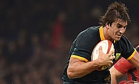 Eben Etzebeth last played for South Africa in December last year