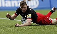 Chris Ashton was handed a 13-week ban in September 2016 when he represented Saracens