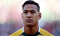 Israel Folau missed the Eden Park clash against New Zealand