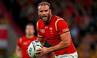Jamie Roberts suffered the injury during the game against Harlequins