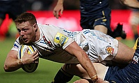 Sam Simmonds scored double for Exeter Chiefs
