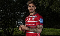Danny Cipriani was named Gallagher Premiership Player of the Month