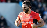 Billy Vunipola scored the decisive try for Saracens