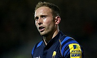 Chris Pennell was one of the try-scorer for Worcester Warriors