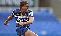Freddie Burns had a tough outing for Bath