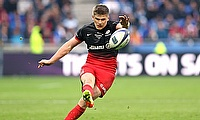 Owen Farrell kicked two penalties and a conversion