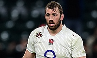Chris Robshaw suffered a knee injury