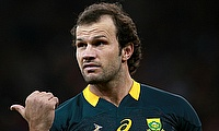 Bismarck du Plessis suffered a neck injruy