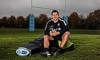 Alex Goode was named Gallagher Premiership Player of the Month