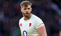 George Kruis played 65 minutes in the game against New Zealand