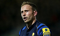 Chris Pennell was sin-binned during the game against Gloucester Rugby