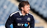 Hamish Watson scored the opening try for Edinburgh