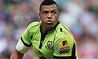 Luther Burrell scored a double for Northampton