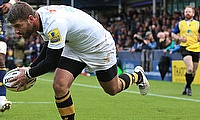 Willie le Roux's try went in vain for Wasps