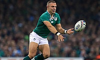 Ian Madigan was part of the winning side