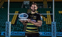 Cobus Reinach was named Gallagher Premiership Rugby Player of the Month