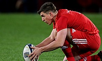 Ian Keatley has been with Munster since 2011