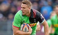 Alex Dombrandt has become a regular fixture with Harlequins