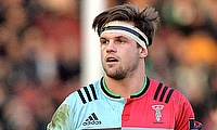 Jack Clifford has been with Harlequins since 2012
