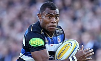 Semesa Rokoduguni scored the opening try for Bath Rugby