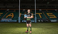 Rory Hutchinson was named Gallagher Premiership Rugby Player of the Month