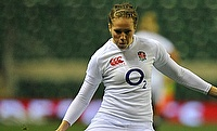 Emily Scarratt was one of England's try scorer