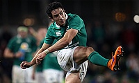 Joey Carberry has played 18 Tests for Ireland