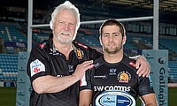 Santiago Cordero was named Gallagher Premiership Rugby Player of the Month