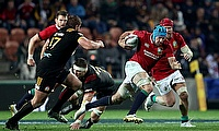 Justin Tipuric in action for the British & Irish Lions