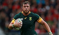 Duane Vermeulen was one of the try-scorer for Bulls