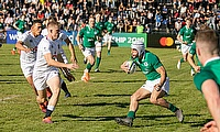 Ireland emerged victorious against England at Club De Rugby Ateneo Inmaculada