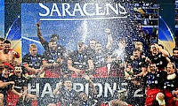 Saracens are the reigning champions of European Champions Cup